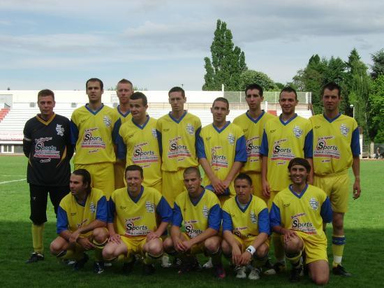 équipe senior2 finaliste