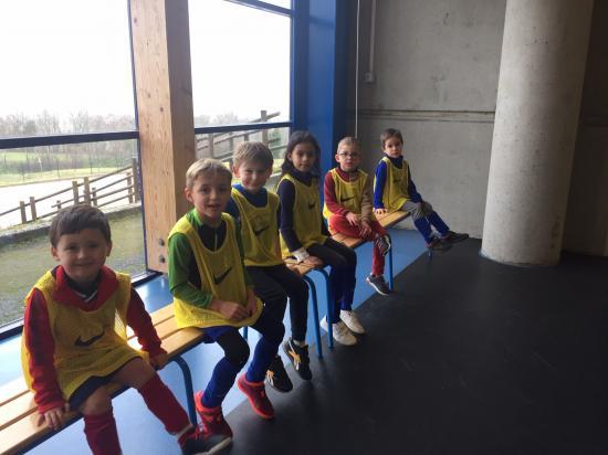 Joueurs u7 entrainement culture foot