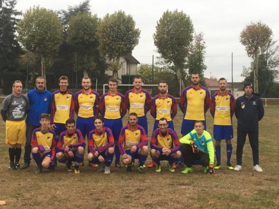 PHOTO GROUPE2 SENIORS CONTRE MONTAGNY2 FIN OCTOBRE 2018