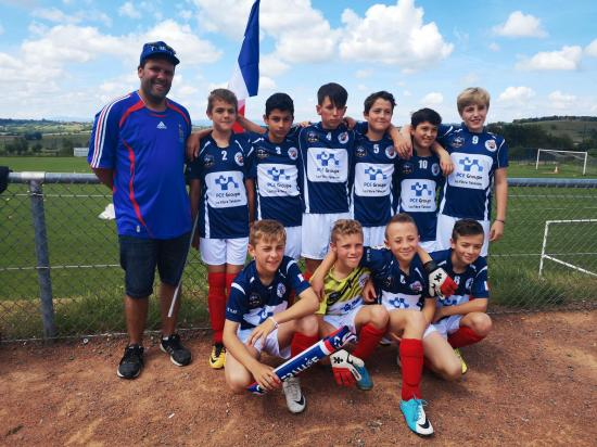 PHOTO U13 EQUIPE DE FRANCE BDM 2 JUIN 2018