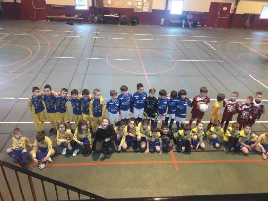 PHOTO U9 TOURNOI ESSOR FEV 2018