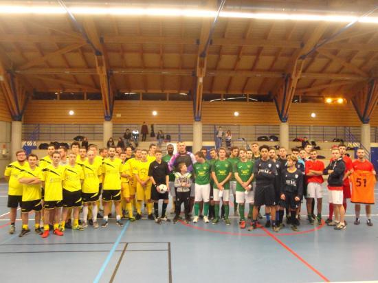 Photo tournoi futsal seniors 5 janvier 2018